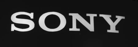 sony: Bangkok, Thailand - October 2, 2014: Logo of Sony , the famous Japanese technology computer and entertainment brand Editorial