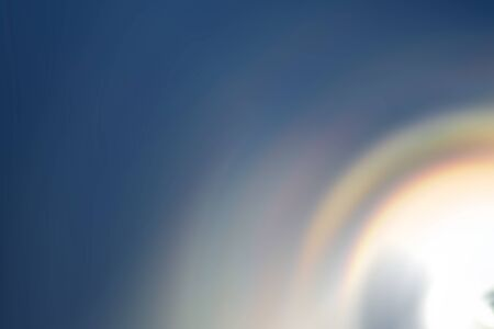 spin: Spin blur of rainbow gradient sunshine abstract background Stock Photo