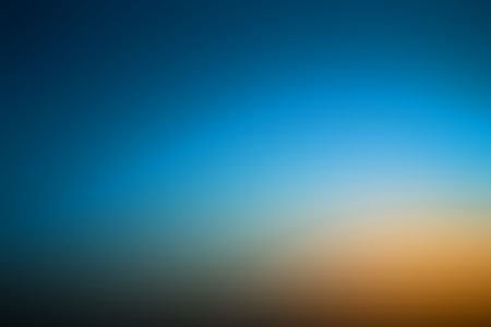 Abstract gradient with dark blue and orange abstract background Stock Photo