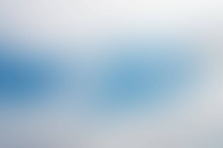 blue gradient: Abstract gradient blue and white blur background illustration Stock Photo