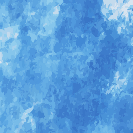 scatter: Blue water color scatter on water color using brush abstrac background