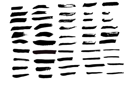 tint: Art brush vector 60 brushes set for illustration you can use it in tint mode to change its color for art brush Illustration