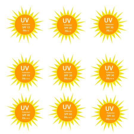 pa: UV Protection  with SPF between 15 to 50 and with UVA protection index (PA) with two and three plus