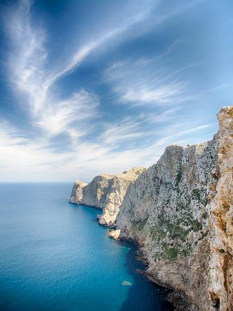 Cap de Formentor - Mallorca Stock Photo
