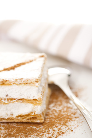 blurr: puff pastry filled of meringue with cinnamon