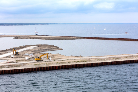 dredging and terminal expansion works in the Warnemunde port