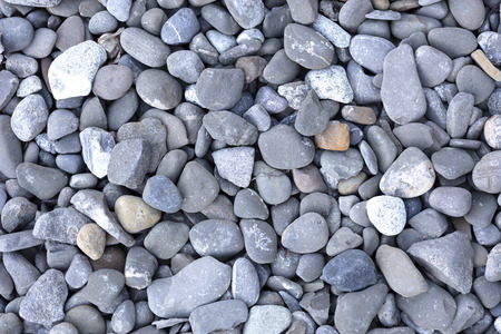 background of gray, yellow and blue pebbles, photo with high resolution and size