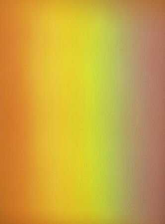 rainbow projected on textured wall. Colorful background