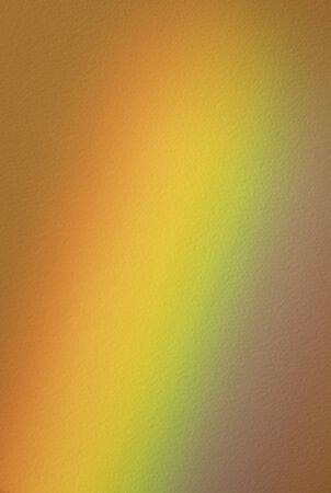rainbow projected on textured paper sheet. Colorful background