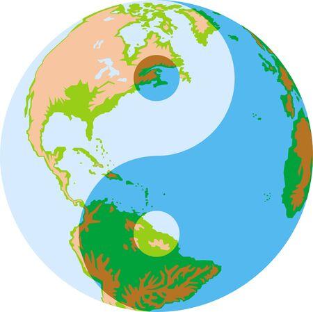 converse: America Karte der Welt auf wei�em Hintergrund