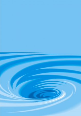 large vortex on the light blue background Stock Vector - 18315617