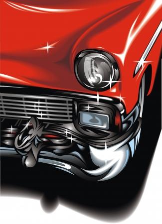 my original sport car design on the white background