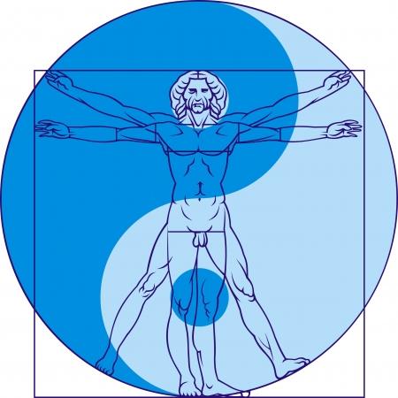 leonardo da vinci: Leonardo da Vinci man as interesting background