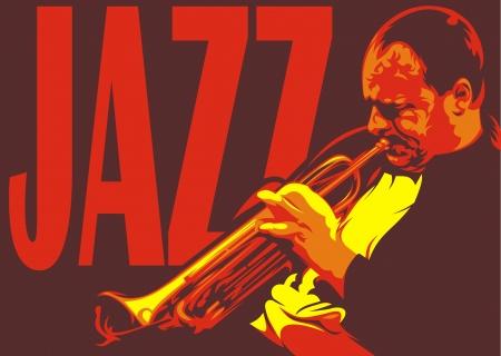 soprano: illustrated nice saxophone on the dark background