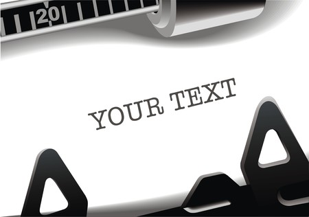 m�quina de escribir vieja: detalle de la m�quina de escribir vieja como fondo agradable