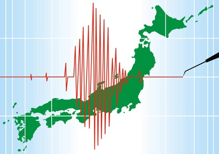 seismic: seismic problems in japan  as nice background