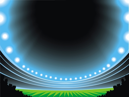arena: soccer arena as very nice sport background