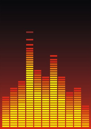 analyzer: very easy color equalizer as music background