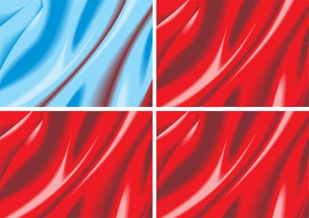 velvet texture: facile trama velluto nel colore blu e rosso