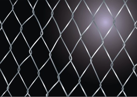 chainlink fence: steel wired wall texture as danger background