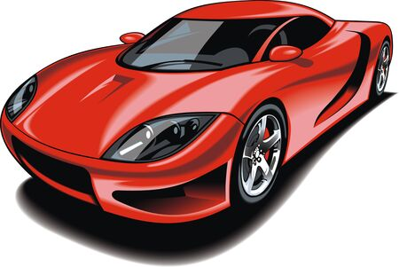 desires: my original car design isolated n the white background