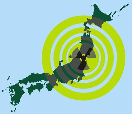 nuclear energy: japan and nuclear energy (end of nuclear power plants) Illustration