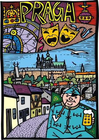 tourist attractions: Prague as capital o czech republic tourist attractions