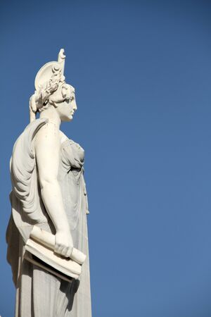Cadiz, female statue of the monument to the Cortes of 1812