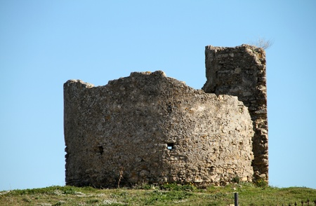 Archaeological remains, Medina Sidonia Stock Photo