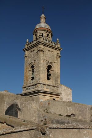 St. Mary the Crowned Church, Medina Sidonia Stock Photo