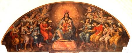 Ancient religious painting, Medina Sidonia