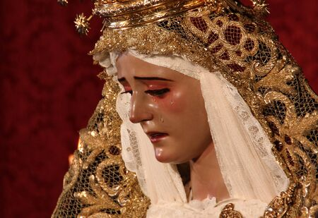Lady of the Forsaken, Sevilla, Spain Editorial