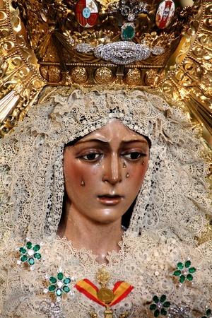 Virgen de la Macarena, Sevilla, España Foto de archivo - 11906320