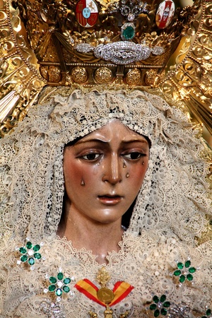 Virgen de la Macarena, Seville, Spain Editorial