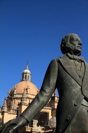 winemaker: Monument of famous winemaker, Jerez de la Frontera