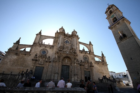 Holy Church Cathedral Jerez de la Frontera