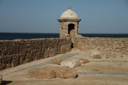 catalina: Corpo di guardia, Castello di Santa Catalina, Cadice Archivio Fotografico