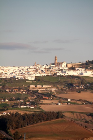 Historic city of Medina Sidonia, Spain Stock Photo