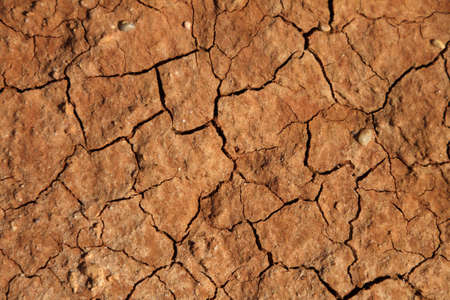 Cracked soil drought photo