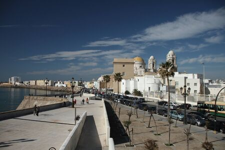 View of the city, Cádiz Stock Photo