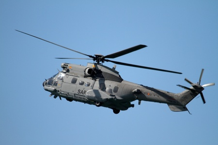Puma helicopter, Spanish Navy Editorial