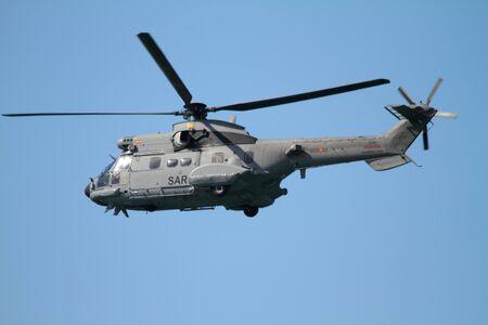 Puma SAR helicopter, Spanish Navy Editorial