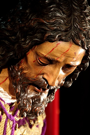 artistic jesus: Our Father Jesus of the Passion, a work by Juan Martinez Monta��s