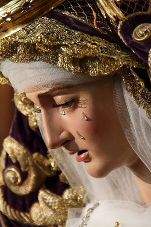 Image of Our Lady of Peace, Holy Week in Jerez
