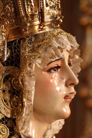 our lady of sorrows: Our Lady of Sorrows, Holy Week in Seville