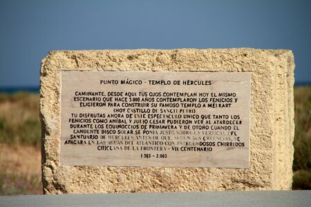 Recalling the temple of Hercules