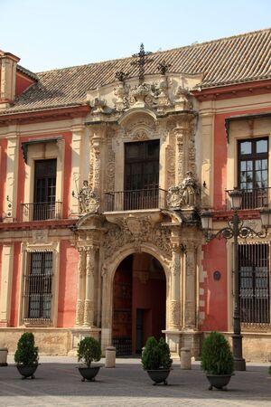 sevilla: Aartsbisschop van Sevilla Palace Redactioneel