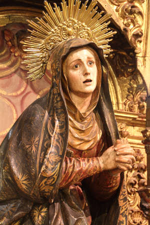 seventeenth: Our Lady of Sorrows in Seville, seventeenth century