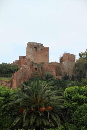 Alcazaba in M�laga Stock Photo