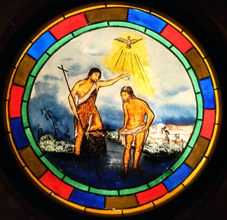 batismo: Baptism of Jesus